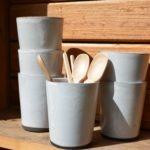 Keramische koffiebekers