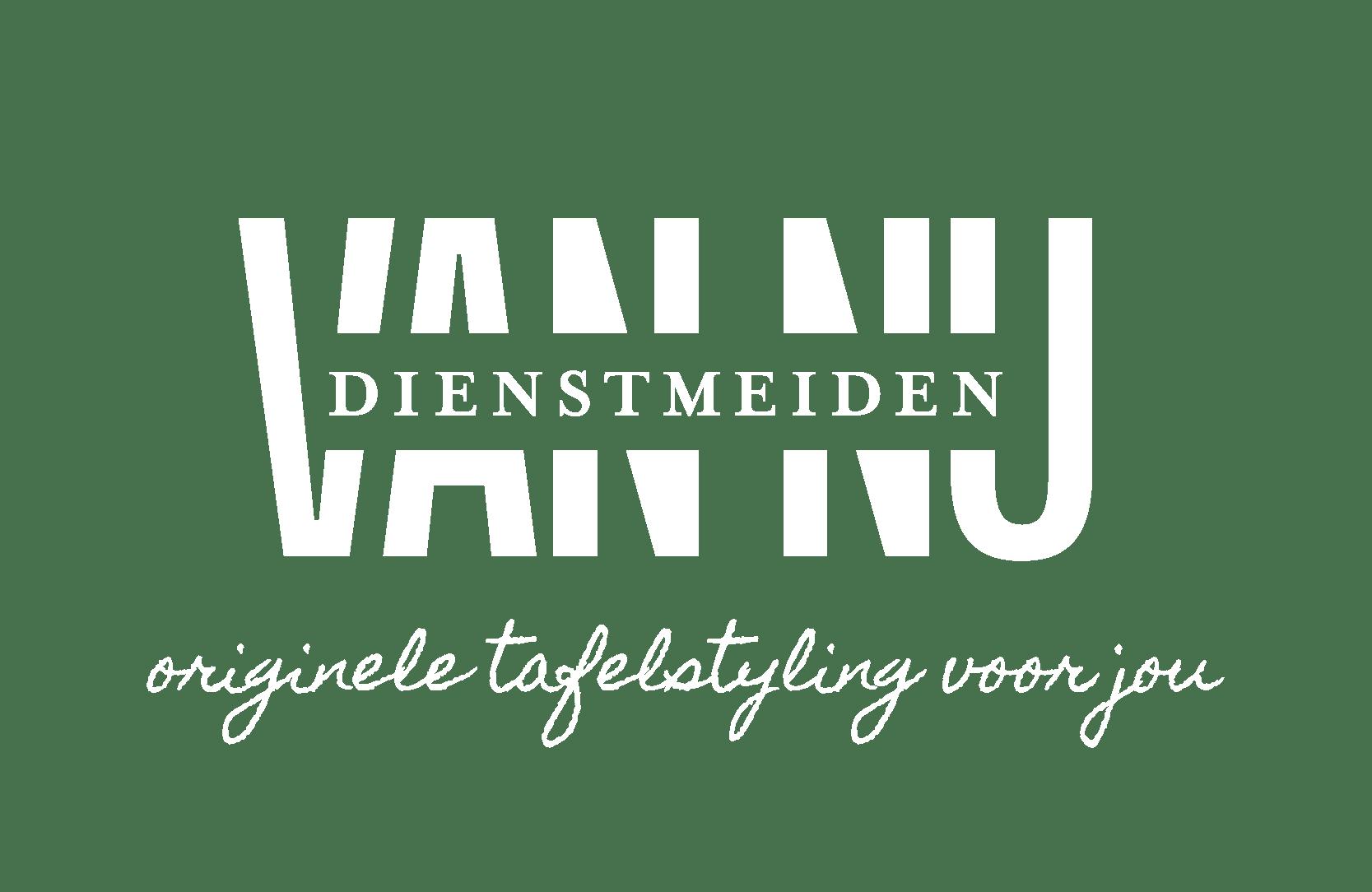 Dienstmeiden van Nu Logo_payoff_wit