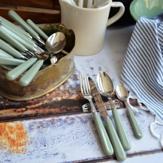 Bestek set Sabre Paris zacht groen compleet