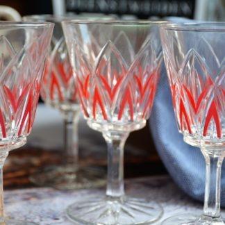 VMC Reims Wijnglazen rood_detail