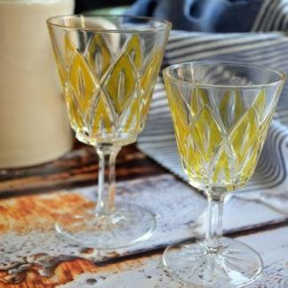 Wijnglazen VMCReims geel