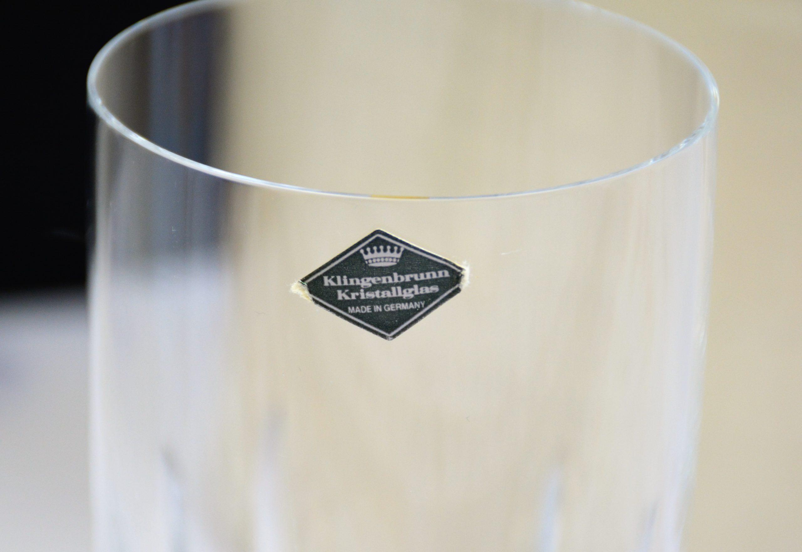Klingenbrunn Kristal Waterglas