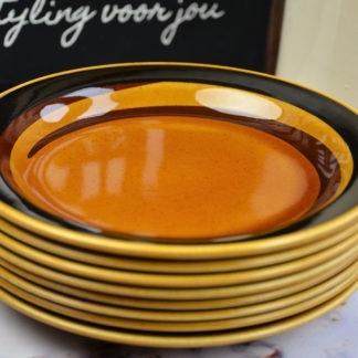 Rörstrand Tuna gebaksbordjes set van 8