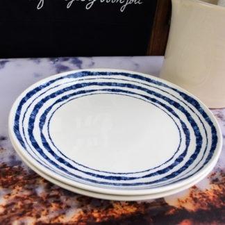Churchill Inkie Blue Lines servies borden diner