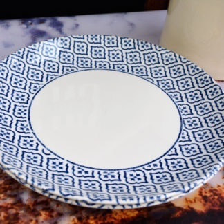 Churchill Inkie Blue Tuscany servies borden diner