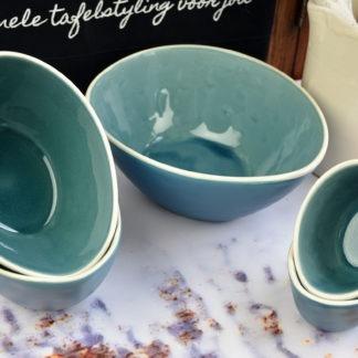 Jewel Schalen set blauw