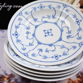 Jäger Eisenberg Original Blau Saks Diepe borden